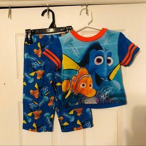 Finding dory pajama set